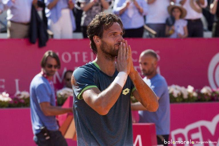 João Sousa travado na final de Roma e impedido de escrever (ainda) mais história para o ténis português