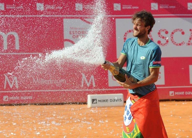 O maior feito de João Sousa: «Ganhar no Estoril, em frente ao meu público. Não tem preço»