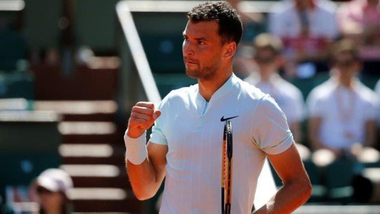 Dimitrov após o triunfo: «Estou feliz mas tenho que jogar melhor»