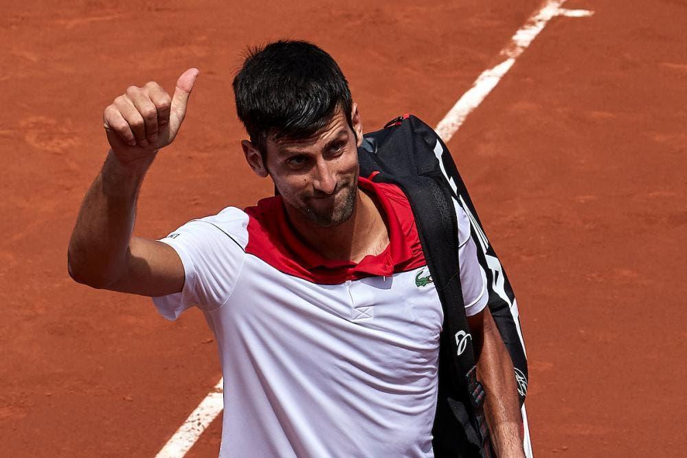 Djokovic feliz: «Foi um dos três melhores encontros que fiz nos últimos 12 meses»