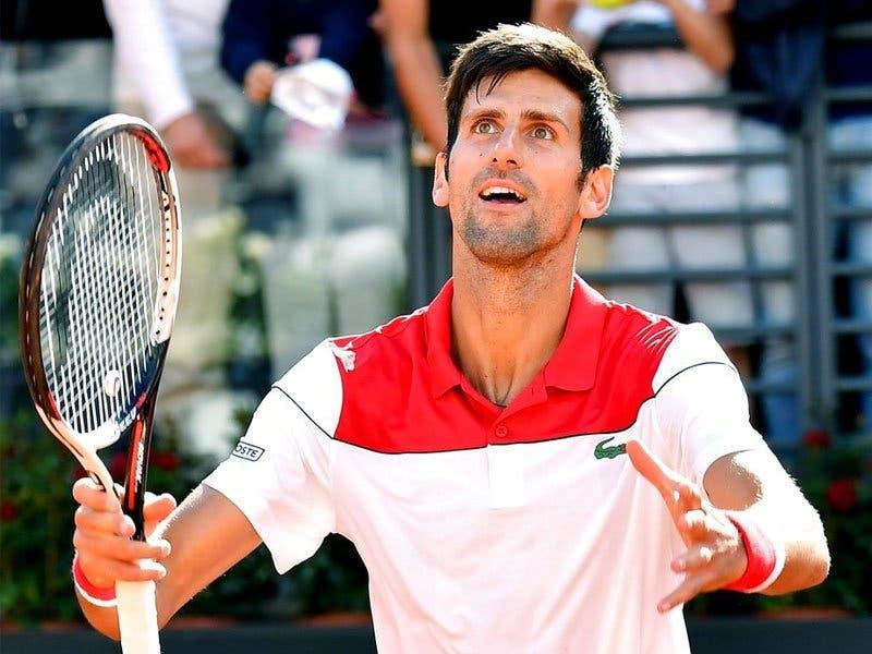 Djokovic volta a arrasar e avança aos 'oitavos' em Roma