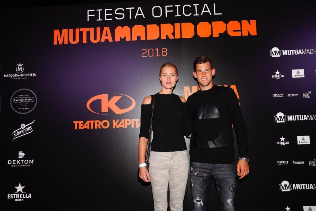 [FOTOS] Estrelas brilharam na festa de jogadores do Mutua Madrid Open