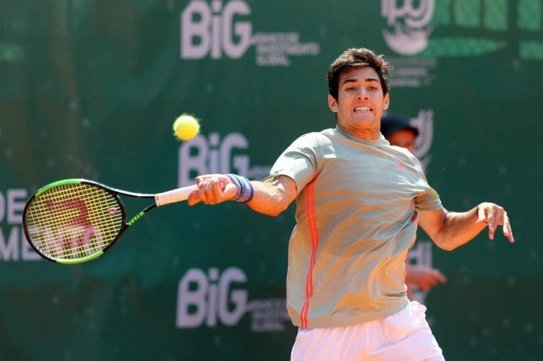 [VÍDEO] Final do Lisboa Belém Open: Tommy Robredo vs. Christian Garin, em DIRETO