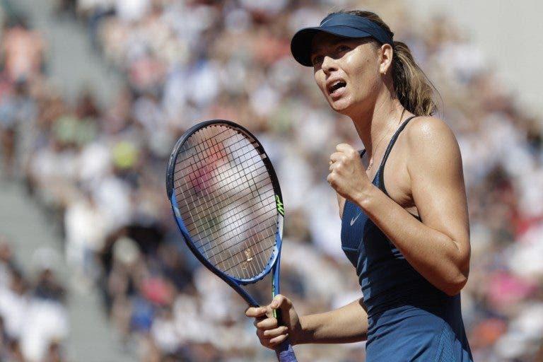 Maria Sharapova resiste a Vekic e marca duelo com Pliskova em Paris