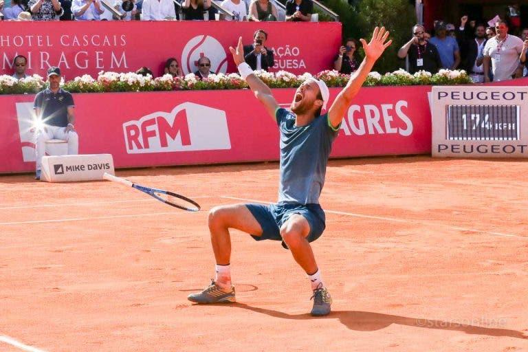 [VÍDEO] ATP lembra histórica vitória de João Sousa no Estoril Open