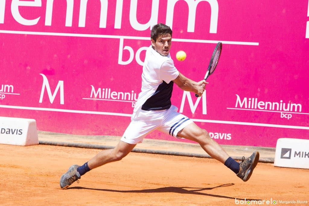 [VÍDEO] Lisboa Belém Open. João Domingues vs Felix Auger-Aliassime, em DIRETO