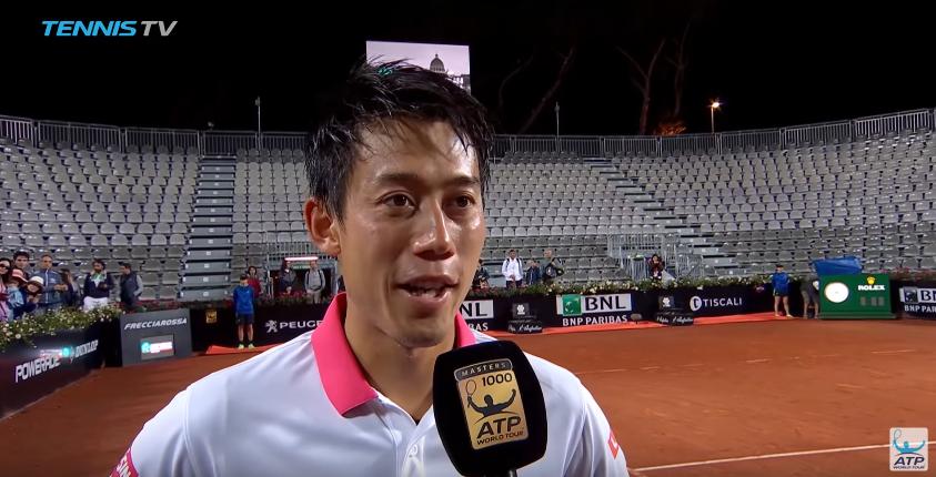 Kei Nishikori: «Espero poder 'vingar-me' do Djokovic»