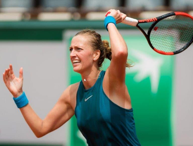 Kvitova não vai a jogo diante de Radwanska em Eastbourne