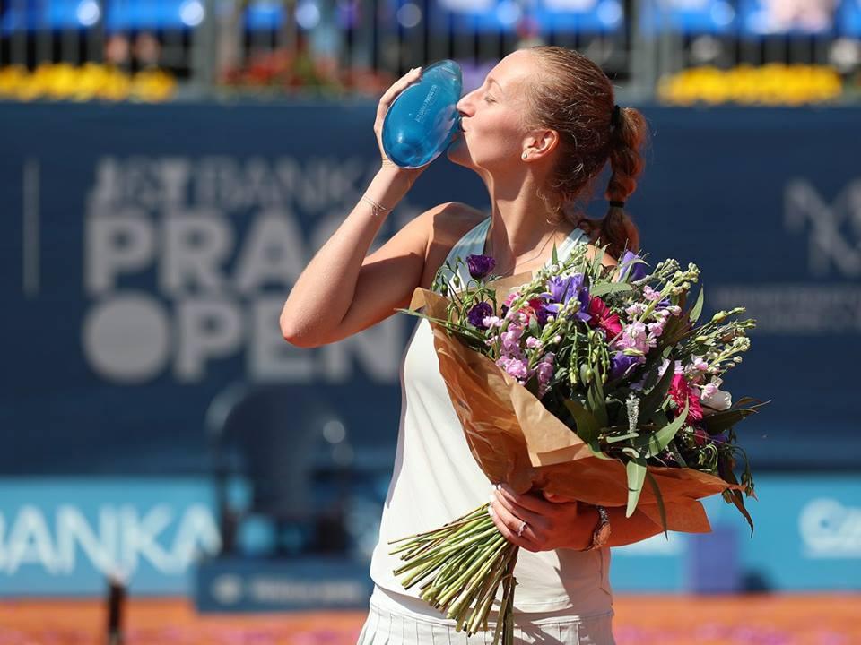 Petra Kvitova é campeã em casa pela primeira vez na carreira