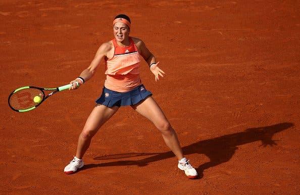 ELIMINADA! Ostapenko, campeã em título, é surpreendida na estreia e está fora de Roland Garros