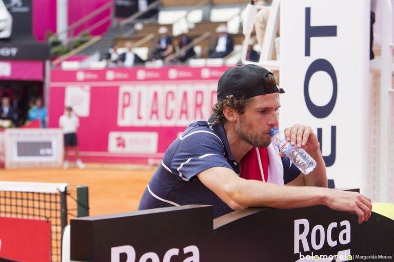 Pedro Sousa defronta ex-top 10 esta quarta-feira em Bastad