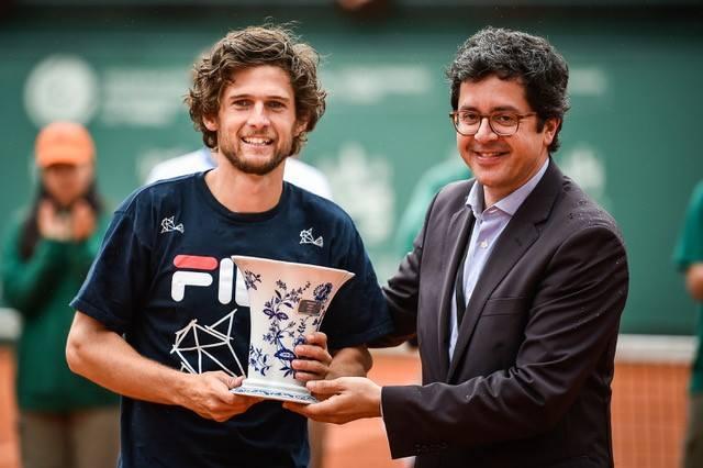 Pedro Sousa conquista em Braga quarto título Challenger da carreira