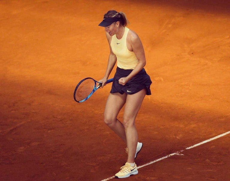 Maria Sharapova vence Mladenovic e já está nos quartos-de-final de Madrid
