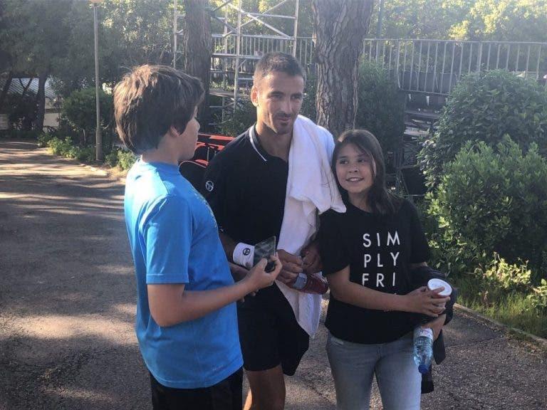 Tommy Robredo arrasa e distribui sorrisos em Lisboa
