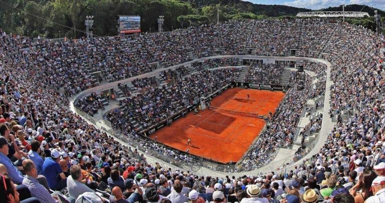 Court Central de Roma deverá ter teto amovível na edição de 2021
