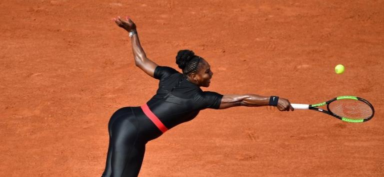 [FOTOS] (Polémico) Vestido de Serena em Roland Garros entre os 5 melhores de 2018