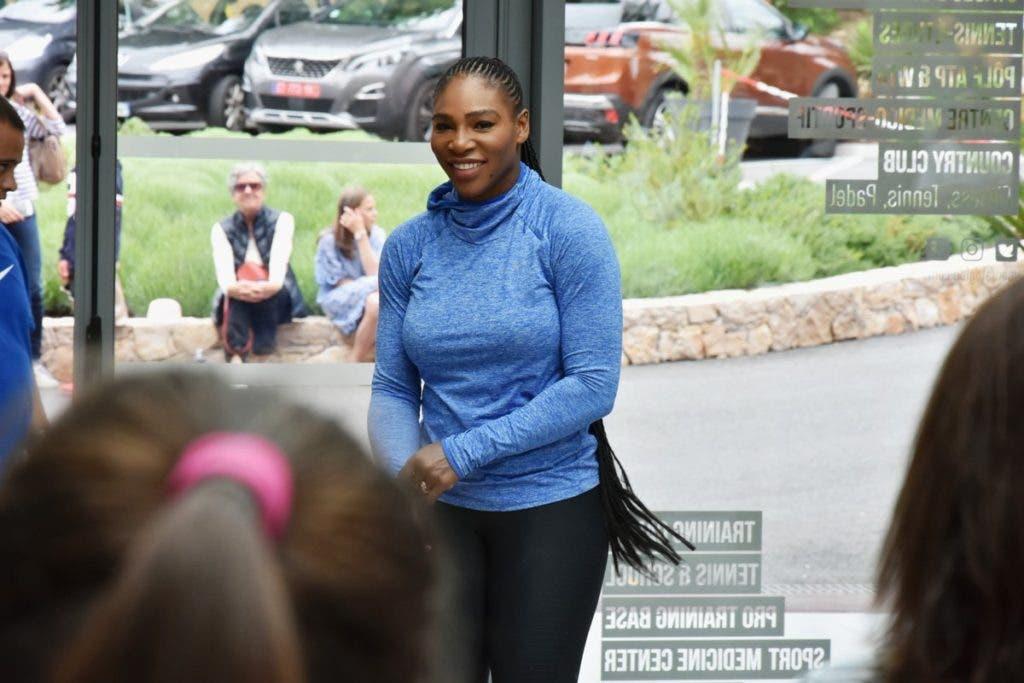 Treinador garante que Serena Williams joga Roland Garros