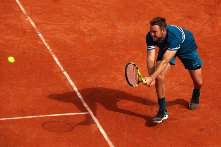 Jack Sock perde pela terceira vez consecutiva na primeira ronda de um Grand Slam