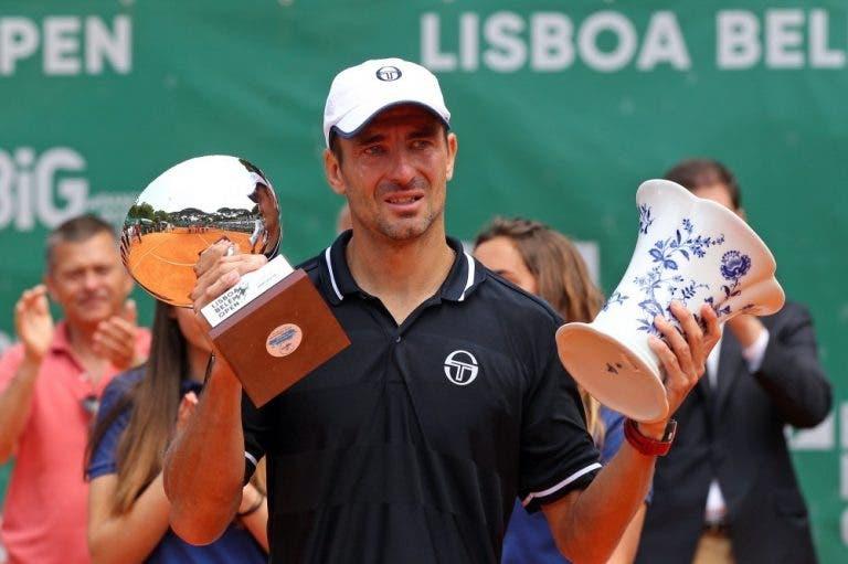 Em lágrimas, Tommy Robredo conquista o Lisboa Belém Open aos 36 anos