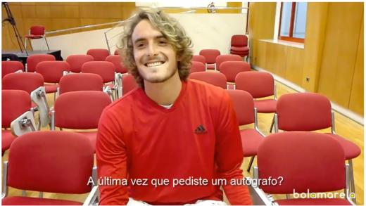 Stefanos Tsitsipas propõe concorrer ao Guiness no número de break points desperdiçados