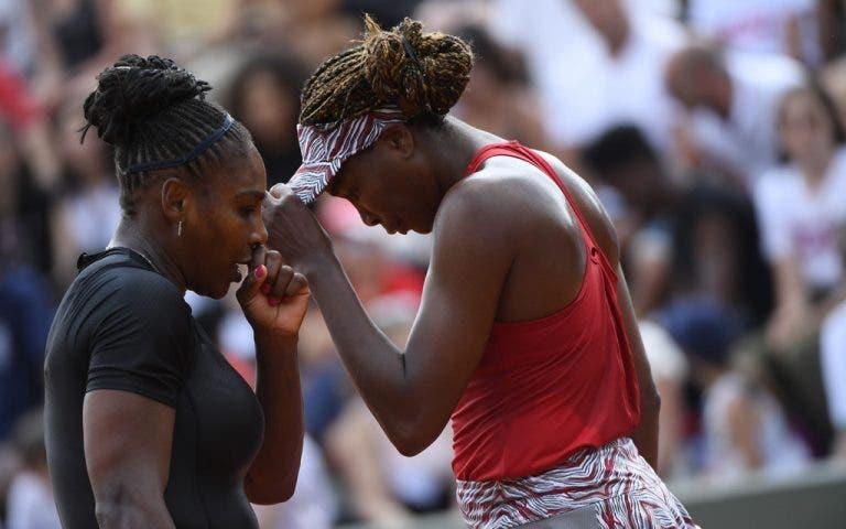 Serena desiste (de novo) e não joga com a irmã em Roma