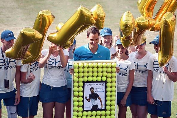 Federer e o número um: «Quero aproveitar esta semana, porque não sei por quanto mais tempo o vou ser»