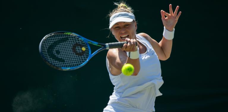 Antigas finalistas, Zvonareva e Bouchard estão a uma vitória de regressar ao quadro de Wimbledon