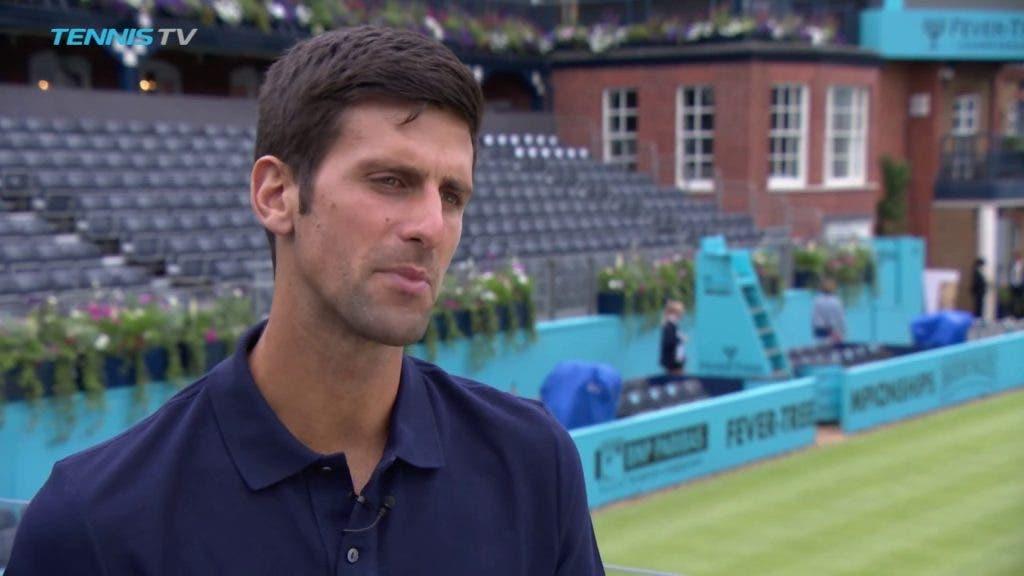 Djokovic antecipa duelo com Dimitrov: «É um desafio enorme para os dois»