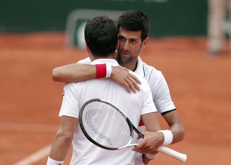 Djokovic revela palavras de conforto para com Bautista à rede