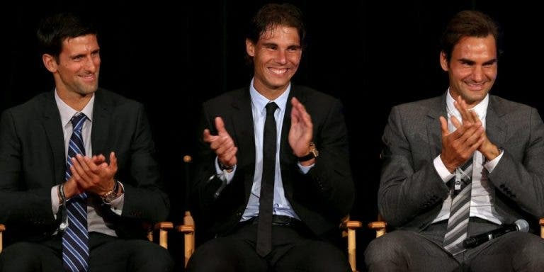 Vice-presidente da Federação russa: «Federer, Nadal e Djokovic são uma seca»