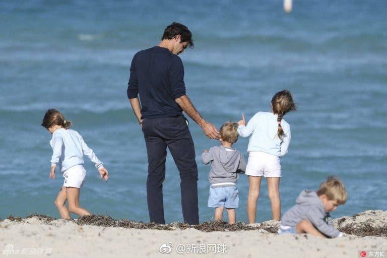 Federer: «Os meus filhos não sabem o quão bom eu sou no ténis»