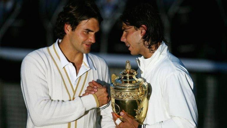 Federer recorda o que pensou durante a épica final em Wimbledon 2008 frente a Nadal: «Por favor, não percas!»