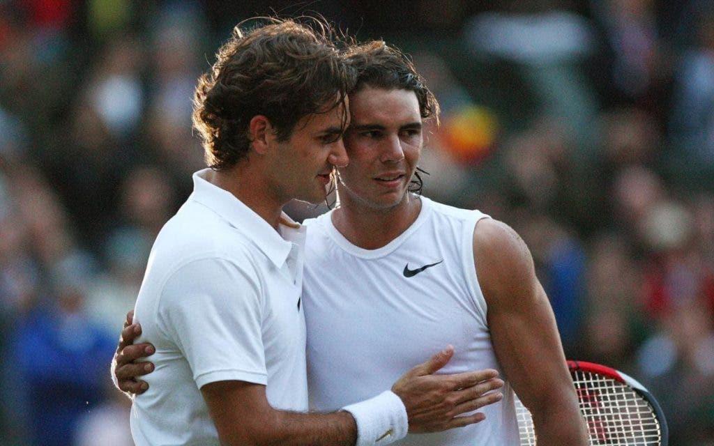 Federer não tem dúvidas: «Nadal vai ser o adversário mais complicado em Wimbledon»
