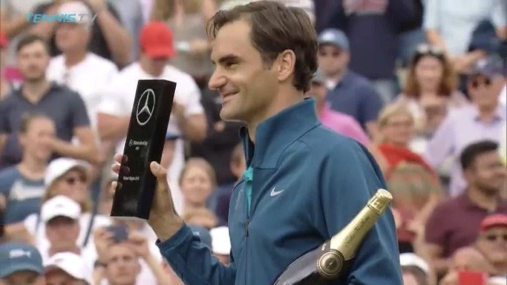 Federer aproxima-se do tenista com mais títulos da história