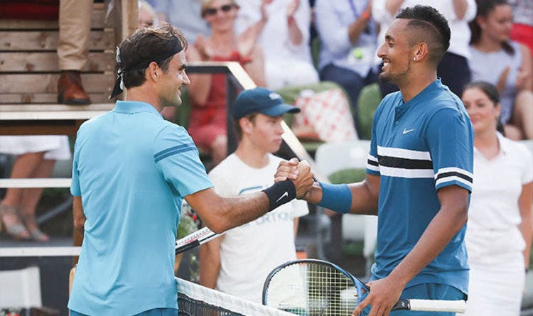Federer sobre Kyrgios: «Eu era como ele mas felizmente mudei»
