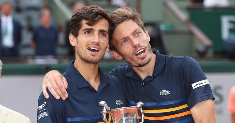 Reencontro: Mahut e Herbert vão voltar a jogar juntos