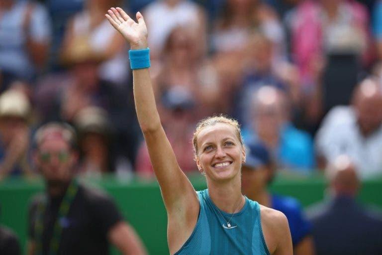 Imperturbável, Kvitova alcança quinta final do ano em Birmingham