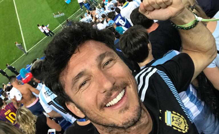 Argentina ganhou no Mundial e os tenistas foram à loucura