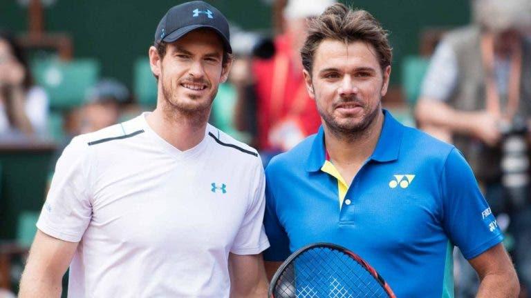 Siga a final do ATP 250 da Antuérpia entre Murray e Wawrinka no nosso live center