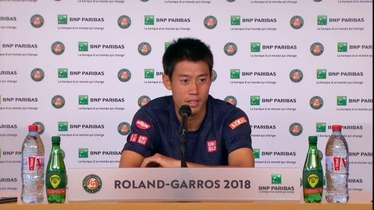 Nishikori: «Nos primeiros dois sets nem estive em court. Fui péssimo»