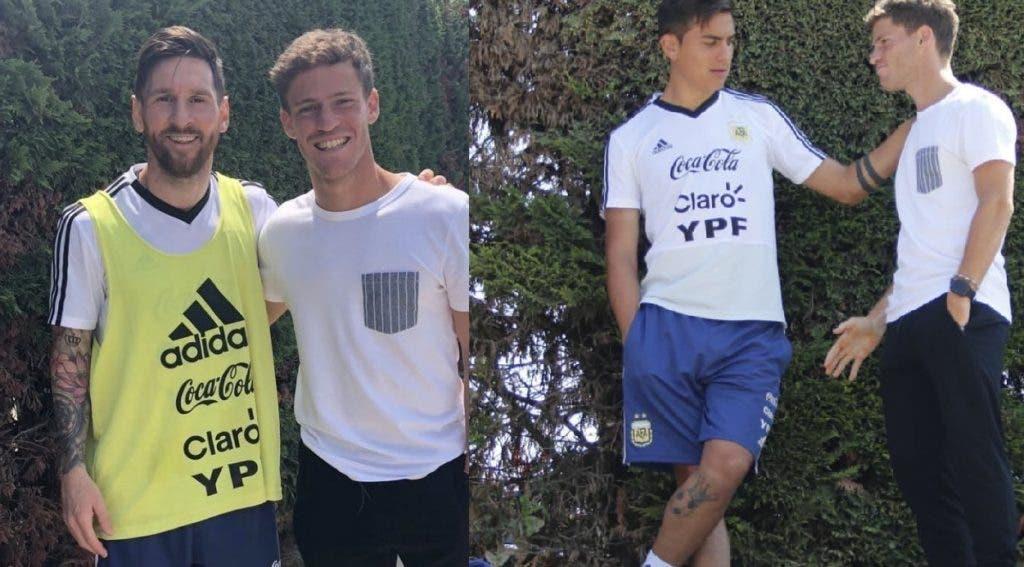 [FOTOS] De Paris a Barcelona, Schwartzman foi visitar Messi, Dybala e companhia