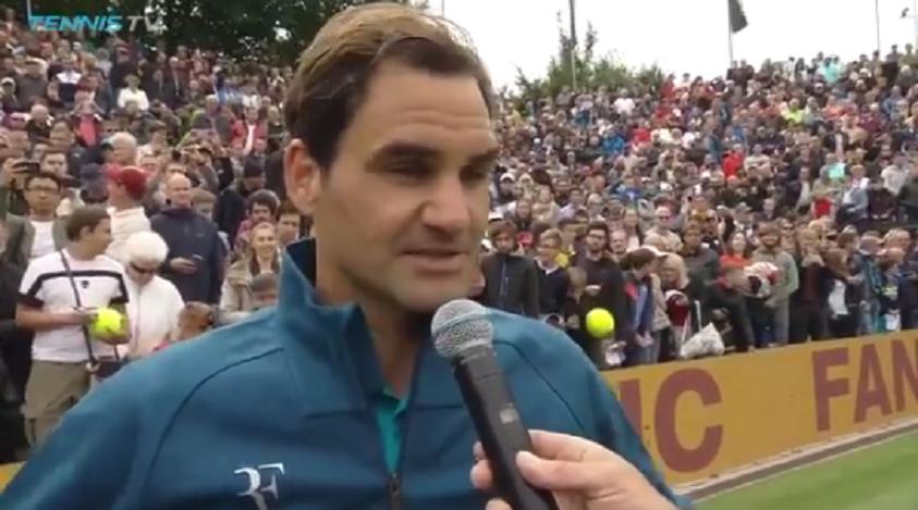 Federer feliz por voltar com vitória: «Estive mais tempo parado do que entre temporadas»