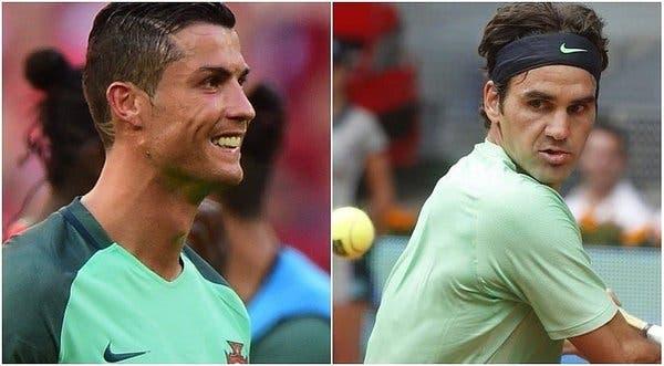 O dia em que Cristiano Ronaldo se inspirou… em Roger Federer