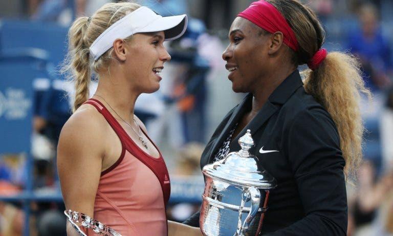 Wozniacki concorda com o facto da amiga Serena ser cabeça-de-série em Wimbledon