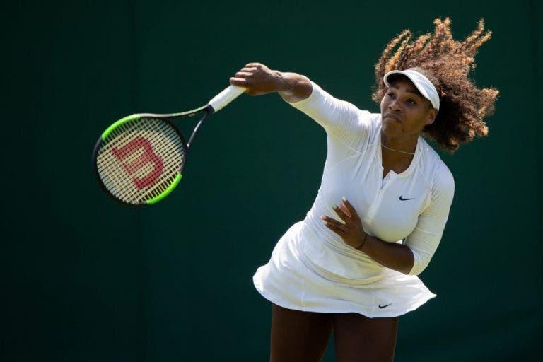 Cornet: «Sou totalmente contra o facto da Serena ser cabeça-de-série em Wimbledon»