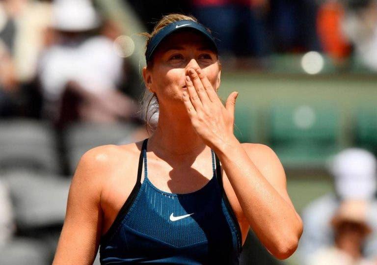 Sharapova desiste de Birmingham e só volta à competição em Wimbledon
