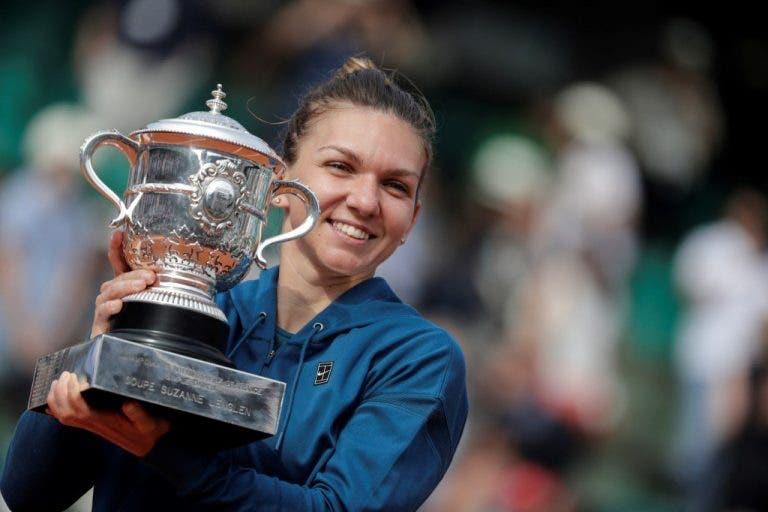 Halep aponta a 2019: «Venci Roland Garros, agora o objetivo é Wimbledon»