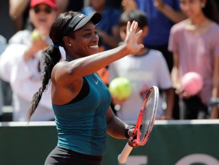 Stephens passeia e atinge primeiros quartos-de-final da carreira em Roland Garros