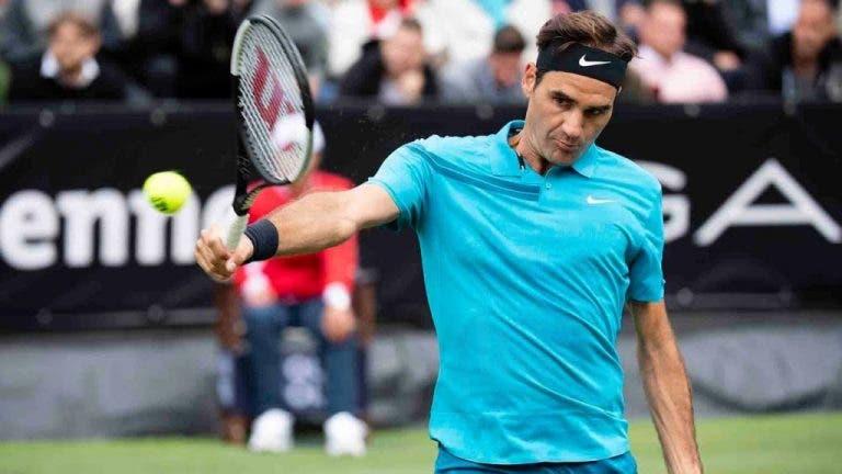 Diretor de Estugarda admite que deixou o estádio (com nervos) quando viu Federer a perder no encontro de estreia
