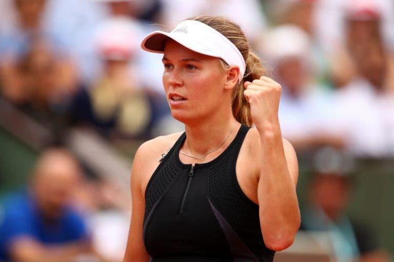 Wozniacki salva match points rumo à primeira final desde o Australian Open